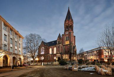 Kreuzeskirche | Eventlocation, Kulturort, Gemeindekirche
