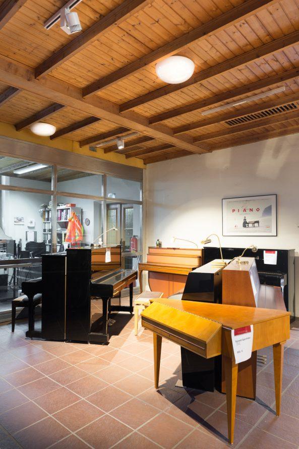 Trinitatiskirche   Ausstellungsraum eines Orgelhändlers & Konzertsaal